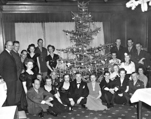 Lindenstrasse Christmas party