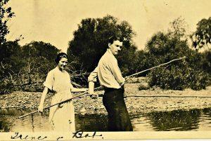 RHJ & IGJ in Spring Creek (front)